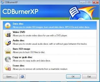 تحميل برنامج نسخ الاسطوانات CD,DVD CDBurnerXP 4.5 للكمبيوتر