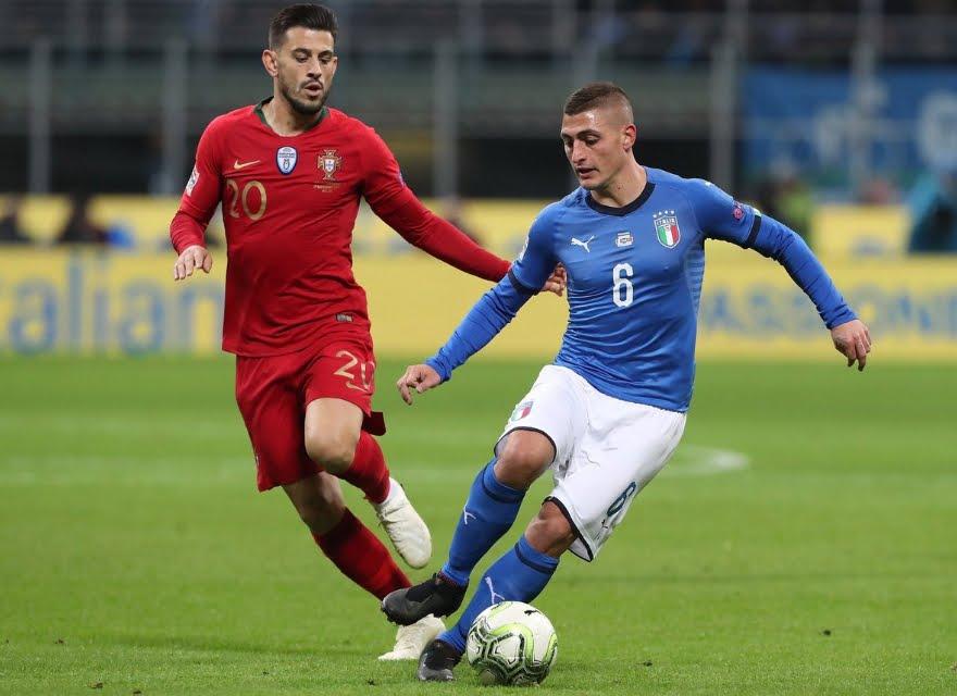 L'Italia con il problema del gol: 0-0 a San Siro contro il Portogallo.