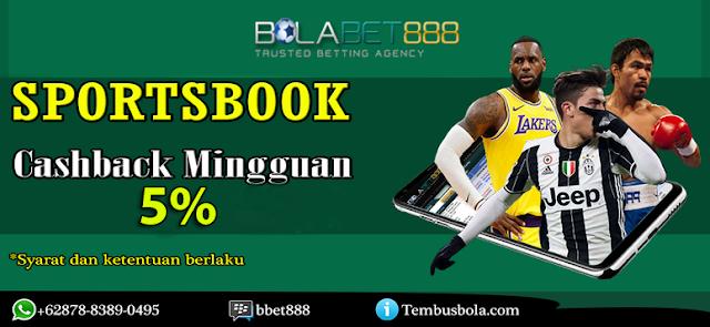 Bolabet888 - Promo Cashback Sportsbook dan Live Casino