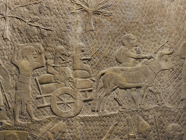 What felled the great Assyrian Empire?