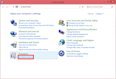 """Cara Uninstall Program Di Window 7"""
