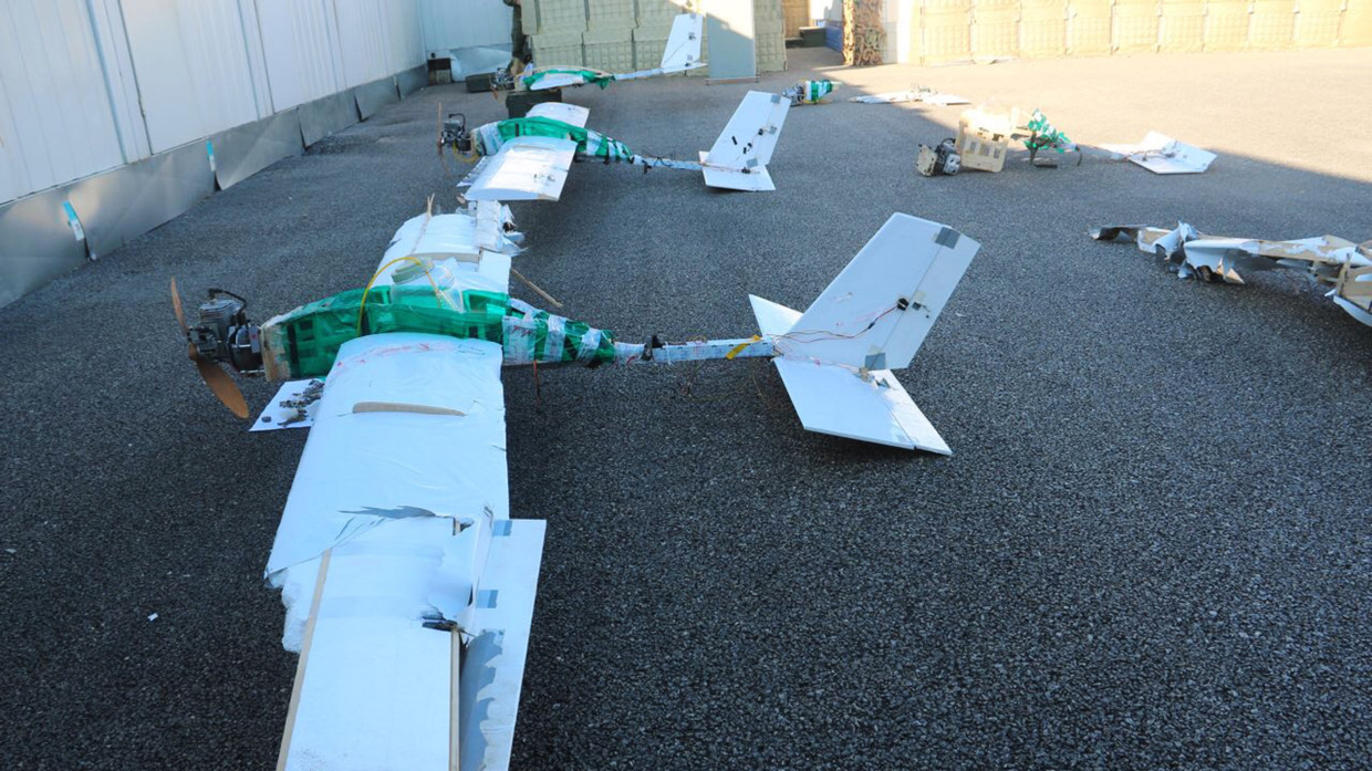 Six drones were shot down: Russian repel drone attack on Khmeimim