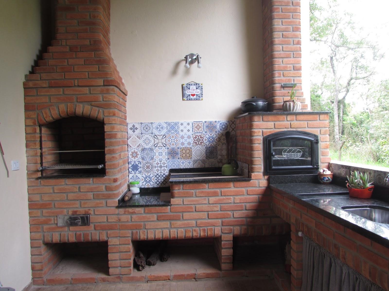 Recanto Canaã: Nosso Espaço Gourmet Cozinha Mineira (Churrasqueira  #67463B 1600 1200