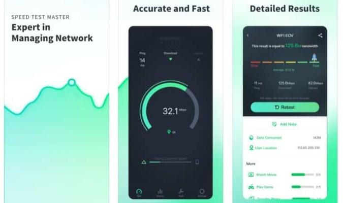 Aplikasi Internet Speed Test Terbaik tuk iOS - Speedtest Master