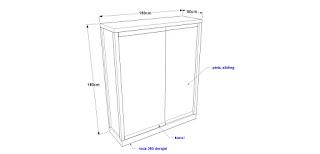 Produsen Etalase Display 2 Pintu Sliding / Geser Dengan 3 Glass Shelves / Tundan Kaca