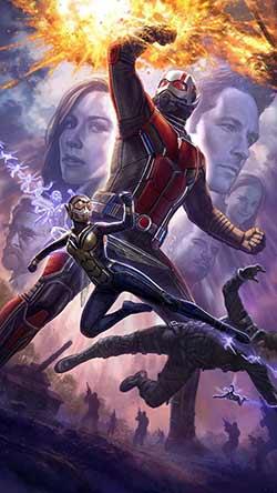 Ant-Man and the Wasp 2018 Hindi Dubbed 300MB HDRip 480p
