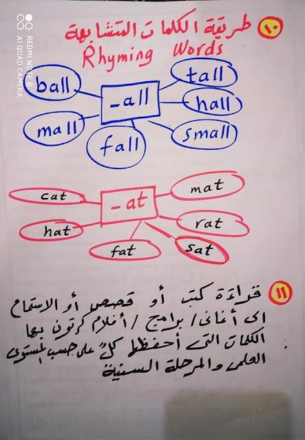 طريقة لحفظ كلمات اللغة الانجليزية وعدم نسيانها 5
