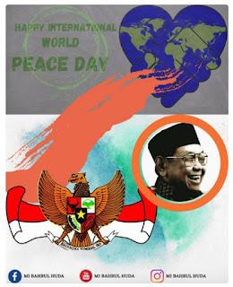 twibbon hari perdamaian internasional 2021 - wordl peace day - kanalmu