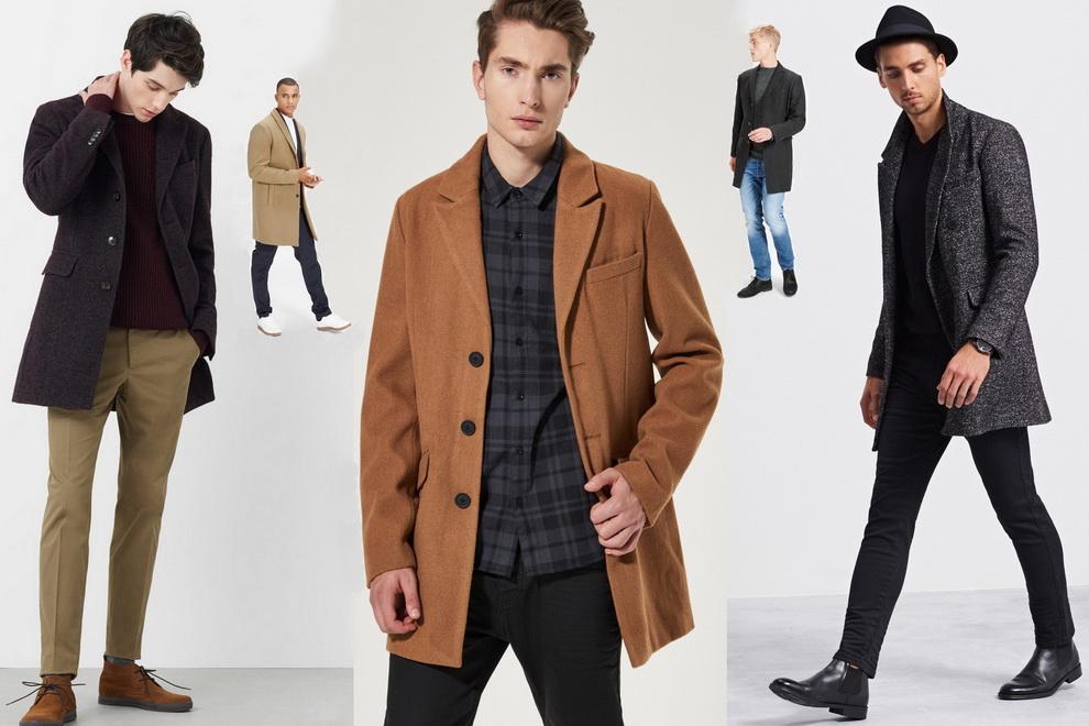 61fbd242433 В этой статье рассматриваем варианты в сегменте одежды – мужское пальто и  полупальто сезона 2016 2017 брендов