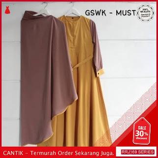 Jual RRJ169D93 Dress Muslim Huraima Wanita Syari Mo Terbaru BMGShop