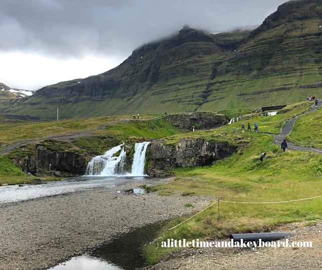 Kirkjufellsfoss completes a breathtaking landscape.