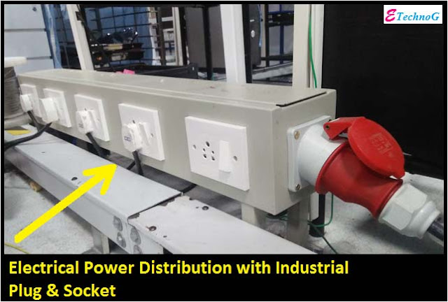industrial plug and socket use