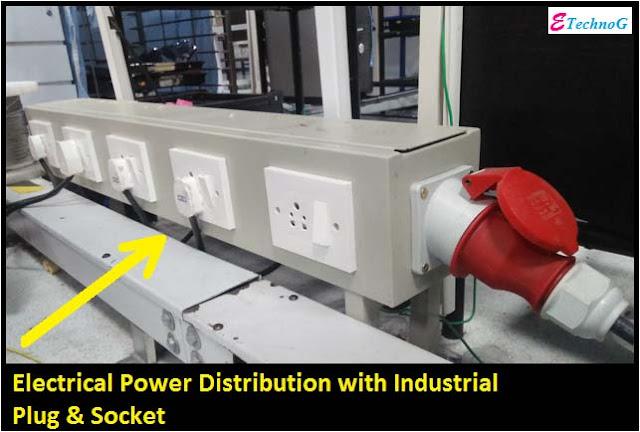 industrial plug and socket use