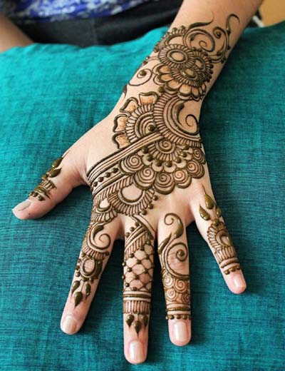 New Mehndi Designs For Hands Amp Foot  Fashionip