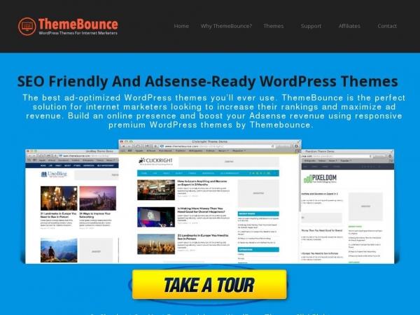 Top 10 Adsense Friendly And SEO Optimized WordPress Themes
