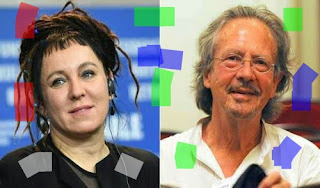 Olga tokarjuk and peter haindke Nobel prize winner 2018,2019।