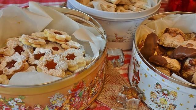 Biscoitos de Natal para presentear