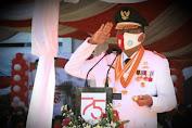 Upacara HUT RI ke-75 di Provinsi Sulut Sederhana Namun Penuh Khidmat