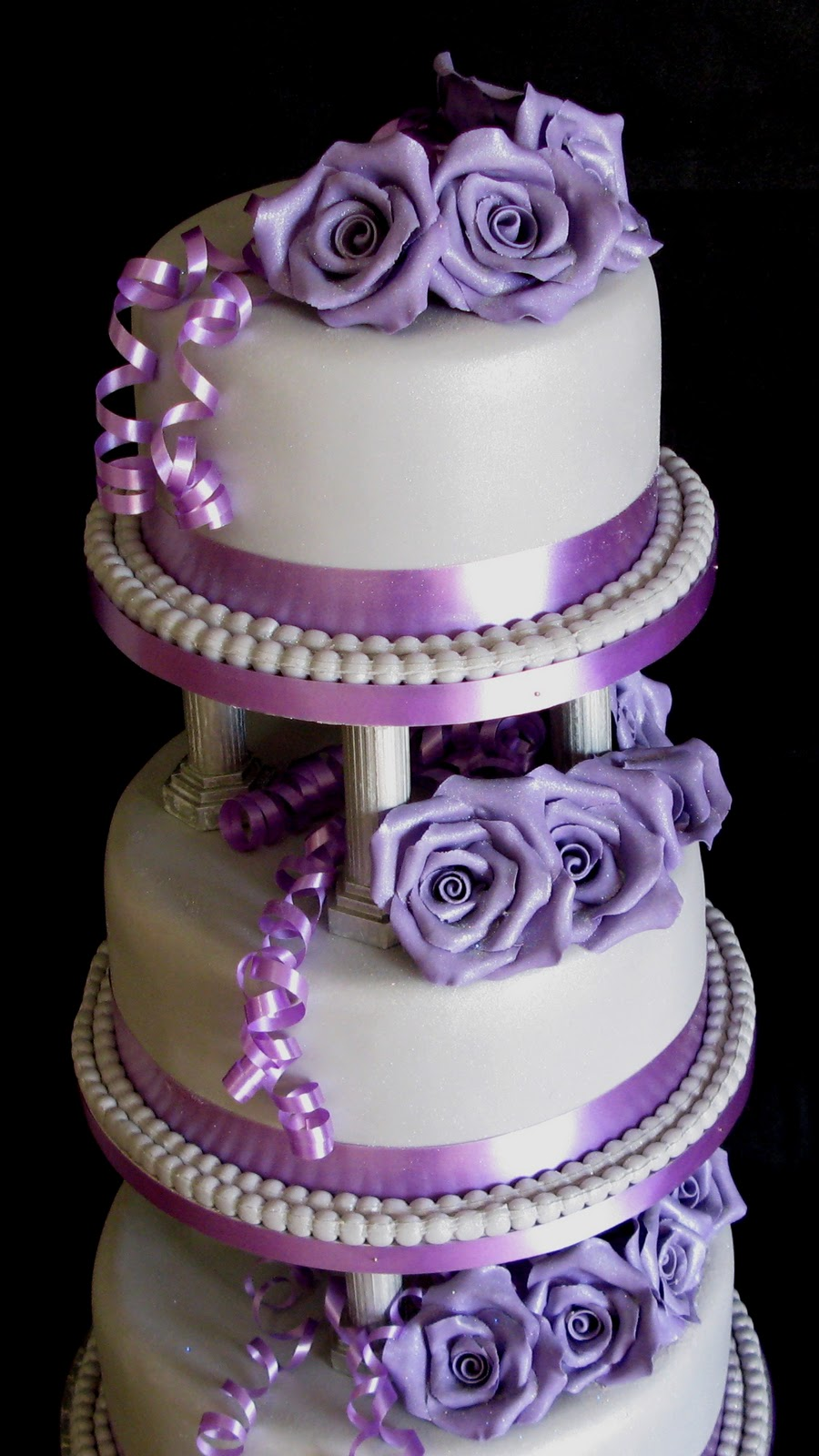 Sugarcraft By Soni Three Tier Wedding Cake Roses