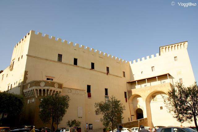 L'imponente Palazzo fortificato di Pitigliano