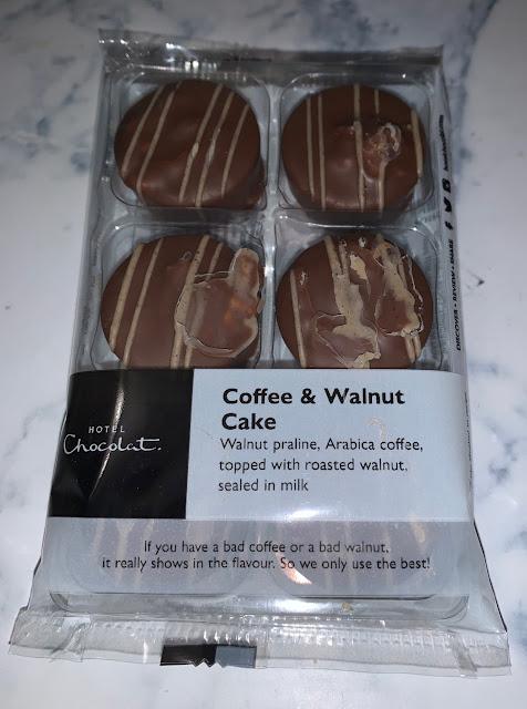 Coffee and Walnut Cake Chocolates