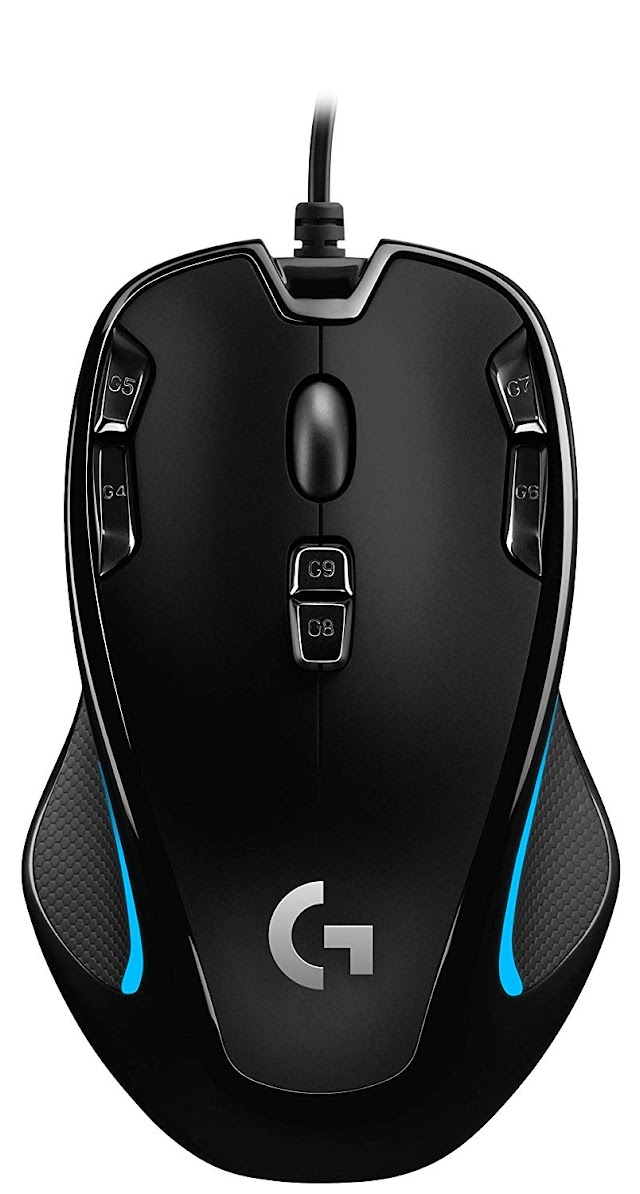 Logitech G300s Optical Gaming Mouse (Best Gaming Mouse)
