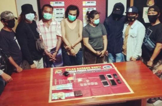 Terlibat Narkoba, Oknum Polisi Ikut Diringkus Satresnarkoba Bima Kota