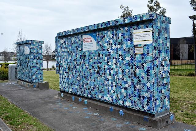 Rhodes Water Pump Box   'Aqueous' by Emma Anna