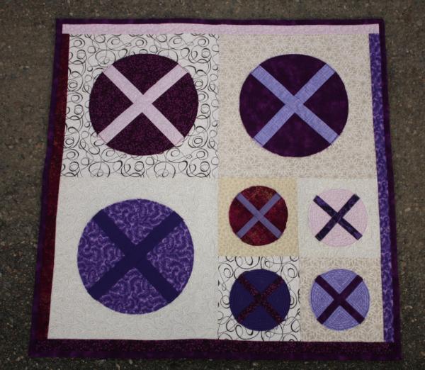 X Marks the Spot Quilt Pattern | DevotedQuilter.blogspot.com