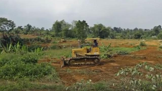 Pembangunan kawasan permukiman seluas 850 hektar itu bekerja sama dengan Perum Perumahan Nasional (Perumnas) di Simalingkar A, Deliserdang.