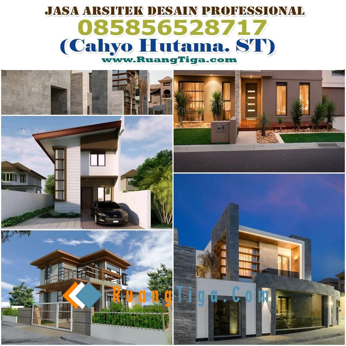 Paket Jasa Desain Arsitek: Jual Desain Rumah Siap Pakai