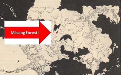 The Continent of Oerik, mangled by grodog -  Greyhawk Folio, 1980