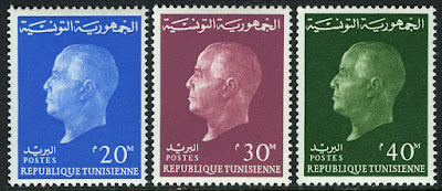 Tunisian President Habib Bourguiba