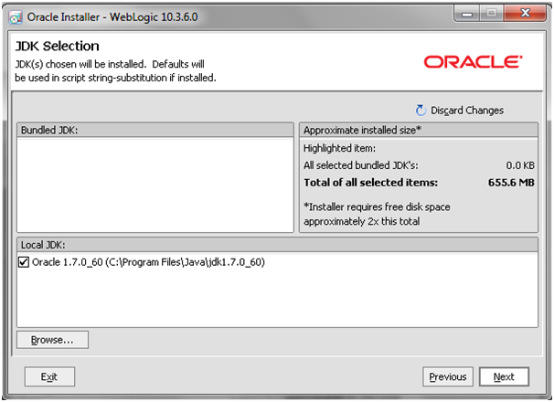 Weblogic10.3.6_Installation_JDK