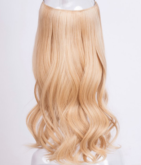 "Cathy 18"" 140g Halo Human Hair Extensions"