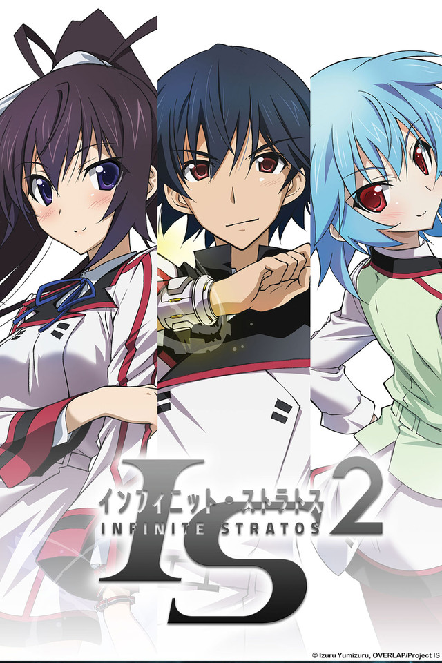Infinite Stratos 2 , IS〈インフィニット・ストラトス〉2 , Action, Sci-Fi, Harem, Comedy, Ecchi, Mecha , 8bit , 2013 , HD , Anime
