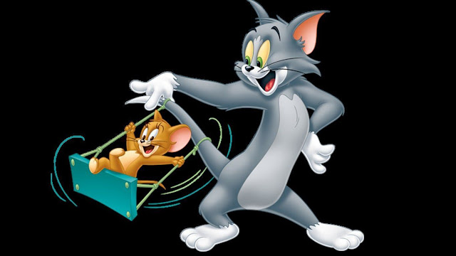 cute tom and jerry wallpaper