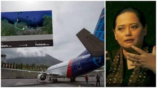 Mbak You Sebelumnya Ramalkan Pesawat Jatuh Tahun 2021, Warnanya Merah dan Biru