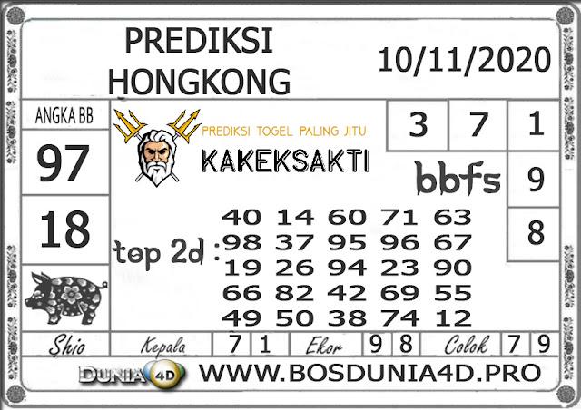 Prediksi Togel HONGKONG DUNIA4D 10 NOVEMBER 2020