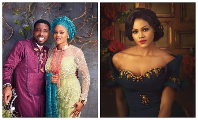 Happy birthday Wifey, My gossip Partner- Timi Dakolo showers praises on his wife as she turns a year older (Photos)