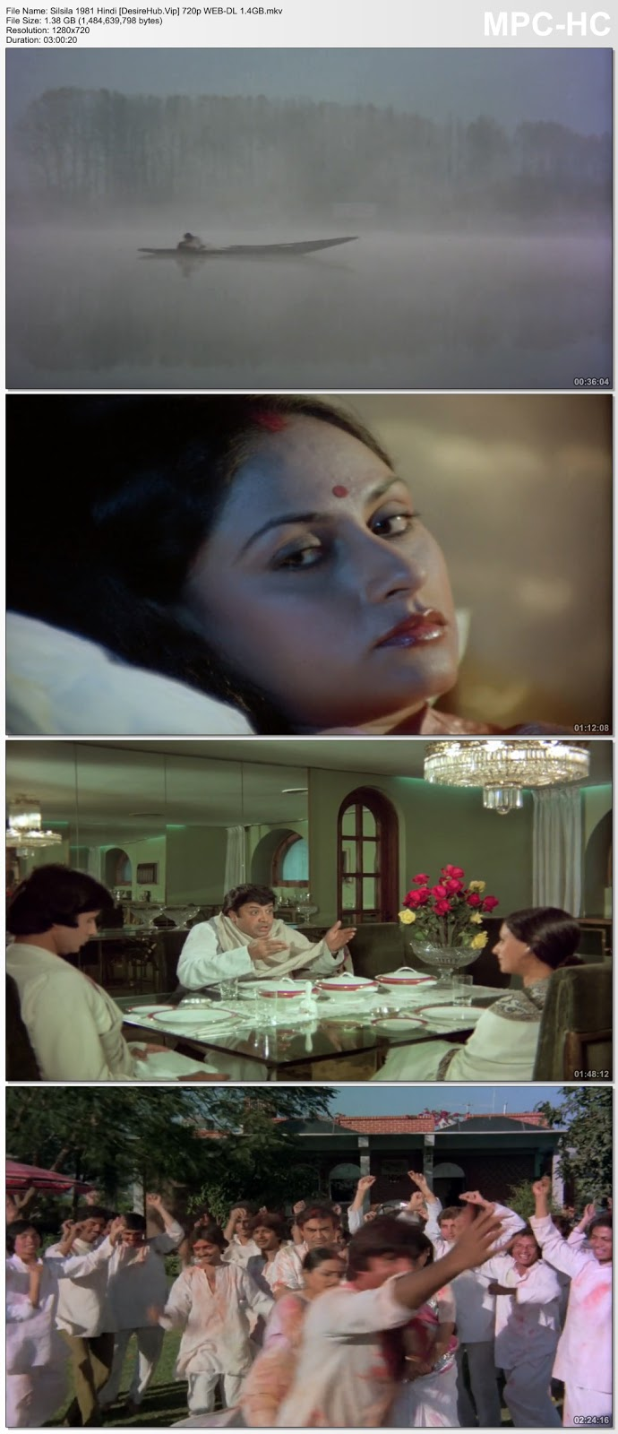 Silsila 1981 Hindi 480p WEB-DL 500MB ESub Desirehub