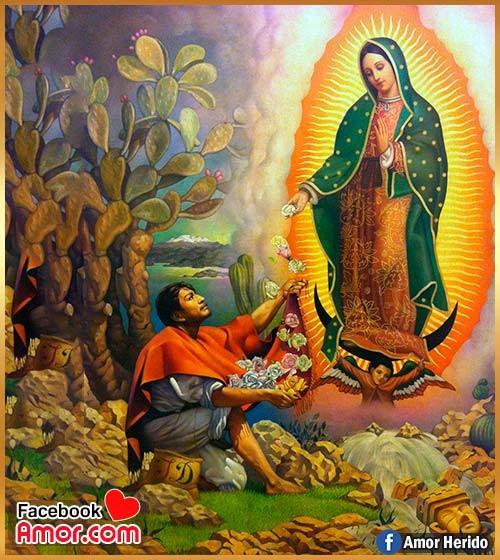 cuadro de virgen de Guadalupe