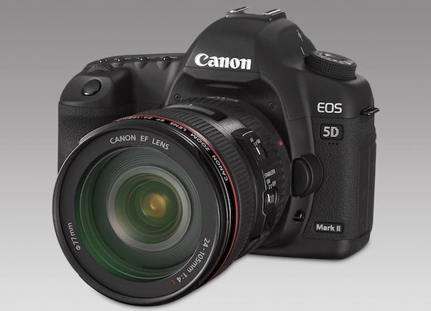 Como faço para tirar fotos HDR com uma Canon 5D Mark 2?