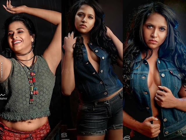 Sadhika Venugopal Hot Photoshoot