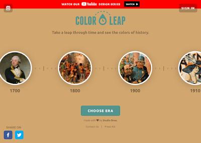 موقع Color Leap