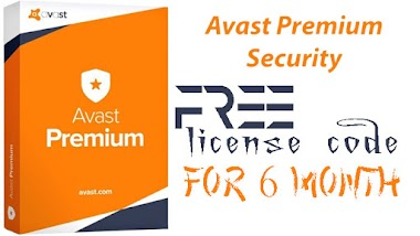 Avast premium security - FREE 6 month license key