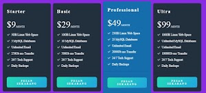 Cara Membuat Table Pricing Responsive