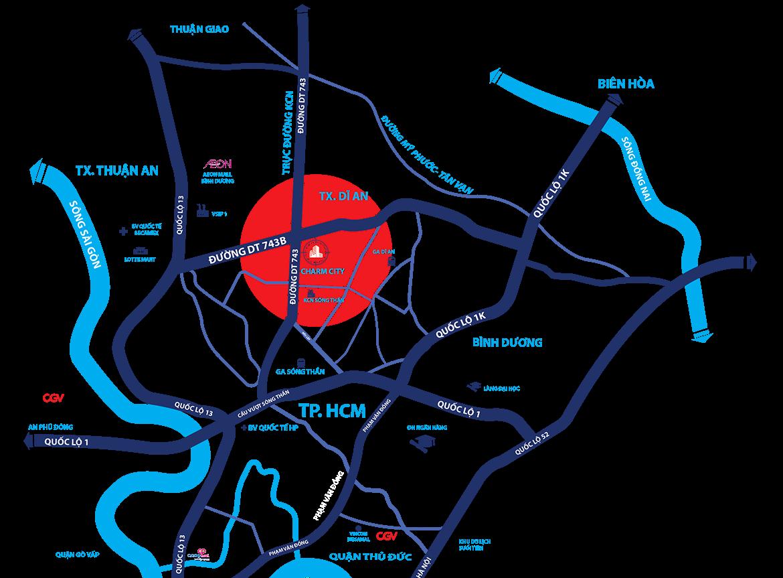 DỰ ÁN CĂN HỘ CHARM CITY