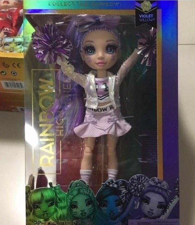 Куклы чирлидеры Rainbow High Cheer Violet Willow