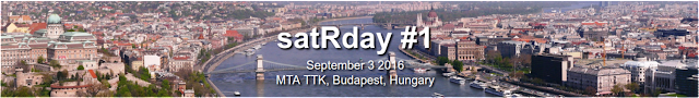 satRday conference @ Budapest next week